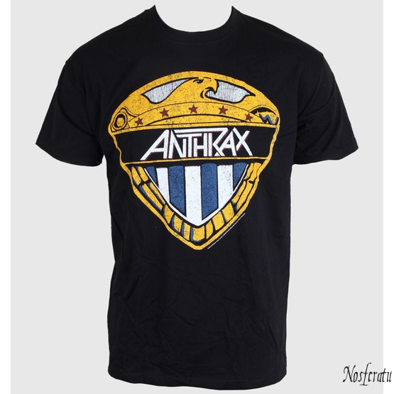 tričko pánské Anthrax - Eagle Shield -  Black - ROCK OFF