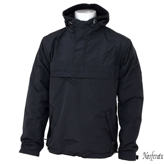 bunda (větrovka) SURPLUS - Windbreaker - BLACK