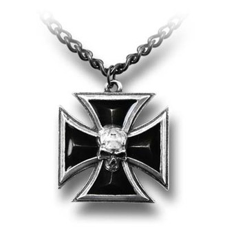 obojek Black Knight's Cross ALCHEMY GOTHIC - P617