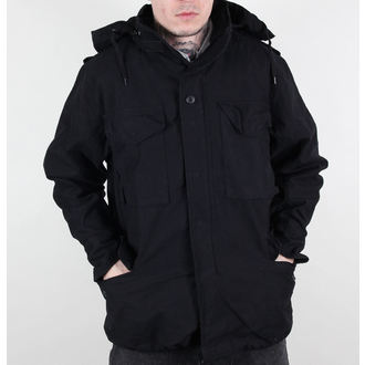 bunda pánská MMB - M65 Fieldjacket NYCO washed - BLACK, MMB