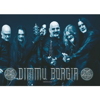 vlajka  Dimmu Borgir - Band Photo -  HFL0572