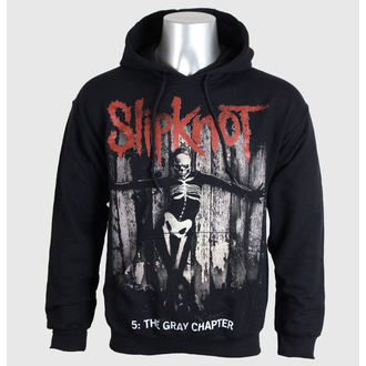 mikina pánská Slipknot - 5 The Gray Chapter - Blk - BRAVADO EU - SKHD14MB