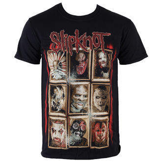 tričko pánské Slipknot - New Masks - Black - ROCK OFF - SKTS13MB