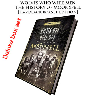 kniha (dárkový set) Moonspell - Wolves Who Were Men (Signed deluxe hardback boxset) - CULT013-1