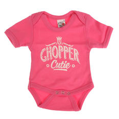 body dětské WEST COAST CHOPPERS - ONESIE CHOPPER CUTIE BABY CREEPER - Rose, West Coast Choppers