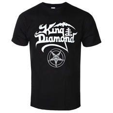 tričko pánské KING DIAMOND - LOGO - PLASTIC HEAD, PLASTIC HEAD, King Diamond