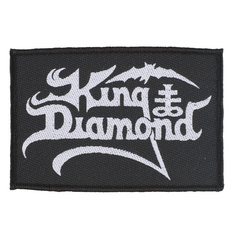 nášivka King Diamond - Logo - RAZAMATAZ, RAZAMATAZ, King Diamond