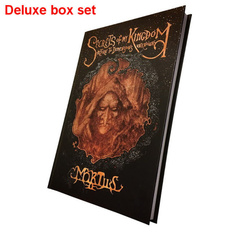 kniha (dárkový set) Mortiis: Secrets Of My Kingdom (Signed deluxe boxset), CULT NEVER DIE, Mortiis