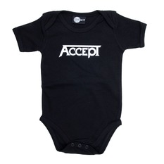 body dětské Accept - Logo - Black - Metal-Kids, Metal-Kids, Accept