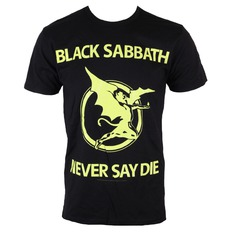 tričko pánské Black Sabbath - Never Day Die - BRAVADO, BRAVADO, Black Sabbath