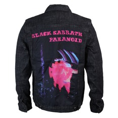 bunda pánská Black Sabbath - Paranoid - Denim - BRAVADO, BRAVADO, Black Sabbath