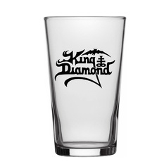 sklenice King Diamond - Logo - RAZAMATAZ, RAZAMATAZ, King Diamond