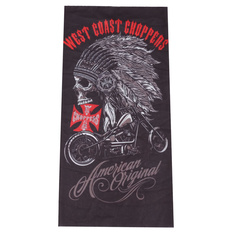 nákrčník (šátek) WEST COAST CHOPPERS - AMERICAN ORIGINAL CHIEF - BLACK, West Coast Choppers