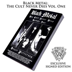 kniha Black Metal: The Cult Never Dies Volume One (signed), CULT NEVER DIE