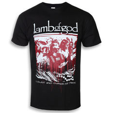 tričko pánské Lamb Of God - Enough Is Enough - ROCK OFF, ROCK OFF, Lamb of God