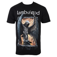 tričko pánské Lamb Of God - Winged Death - ROCK OFF, ROCK OFF, Lamb of God