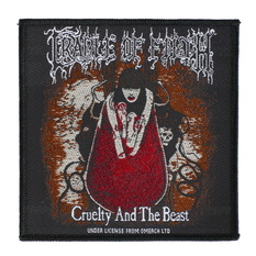 nášivka Cradle Of Filth - Cruelty And The Beast - RAZAMATAZ, RAZAMATAZ, Cradle of Filth