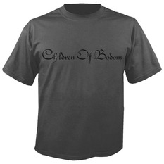 tričko pánské CHILDREN OF BODOM - Logo GREY - NUCLEAR BLAST, NUCLEAR BLAST, Children of Bodom